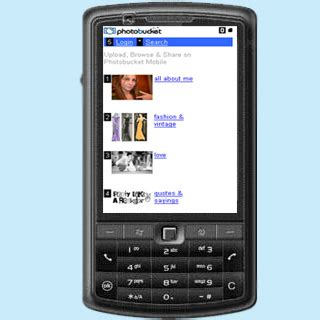 photobucket mobile site mobile phones to now feature photobucket mobile a photo