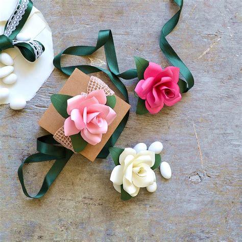 fiori per bomboniera di carta per bomboniere la figurina shop