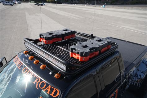 F350 Roof Rack by Rebel Road S Ford F 350 Power Stroke Tow Rig Diesel Army