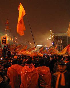 orange si鑒e social explaining the color revolutions