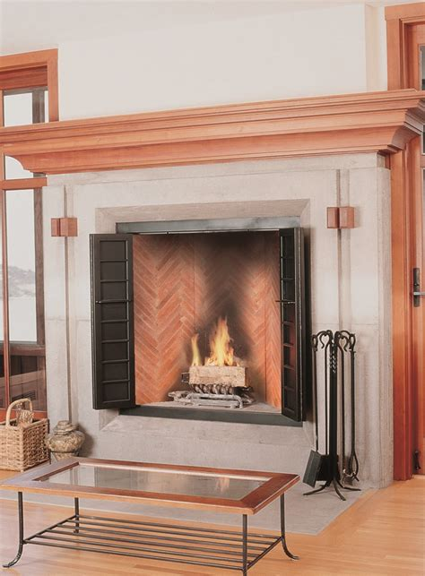 Pottery Fireplace by Herringbone Gallery Superior Clay