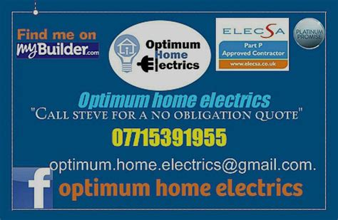 optimum home electrics 100 feedback electrician