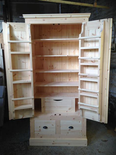 Bespoke Handmade - bespoke handmade solid pine boy kitchen larder