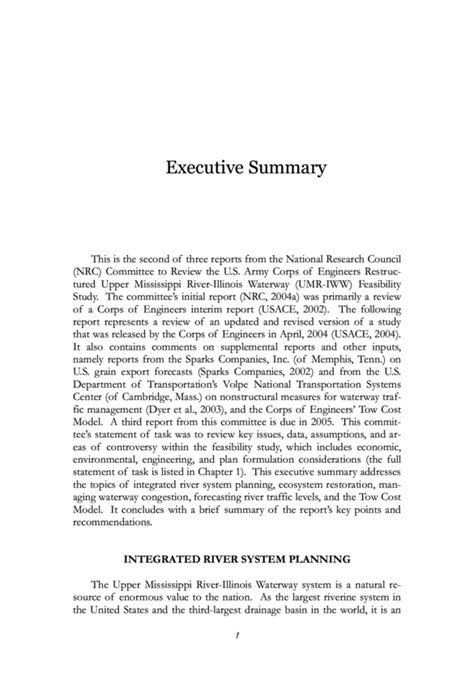 army exsum template army executive summary format