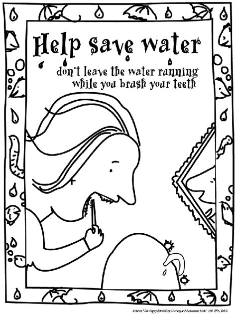 water pollution coloring pages coloring home