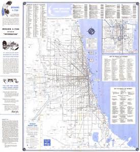 Chicago El Map Blue Line by Chicago L Org System Maps Route Maps