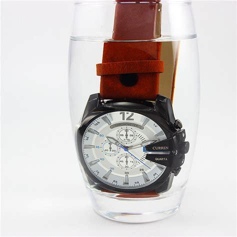 Curren Jam Tangan Analog Pria Mk1 Silver Black curren retro wrist