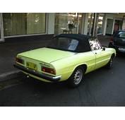 Aussie Old Parked Cars 1974 Alfa Romeo 2000 Spider Veloce