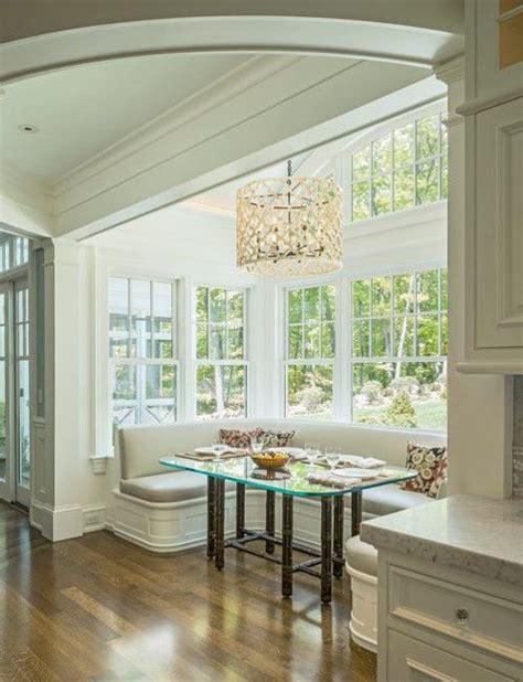 Kitchen Nook Storage Ideas Space Saving Kitchen Nook Design With Window Seat And Storage