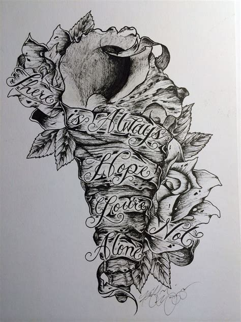 of mice and men tattoo quot there is always you re not alone quot of mice