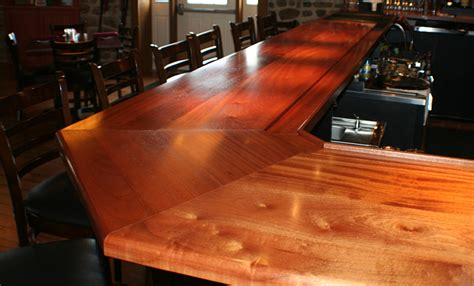 hardwood bar tops commercial or residential wood bar top photos for wet bar