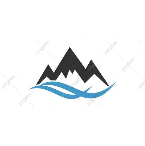 mountain logo graphic design template vector illustration