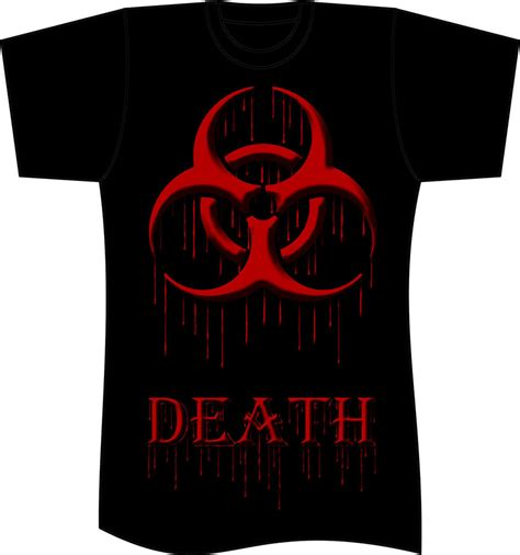 Icon T Shirt Design | t shirt design biohazard logo by reaperhexvire on