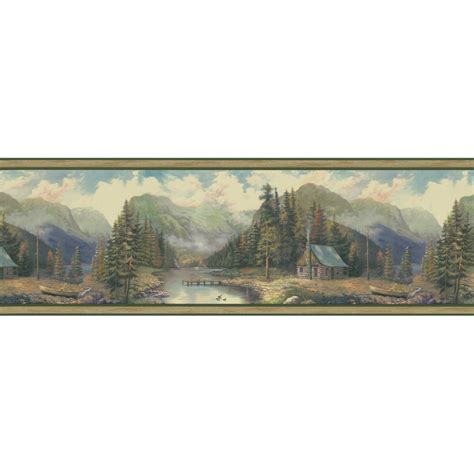 Cabin Wallpaper Border by Prepasted Wallpaper Border 2017 Grasscloth Wallpaper