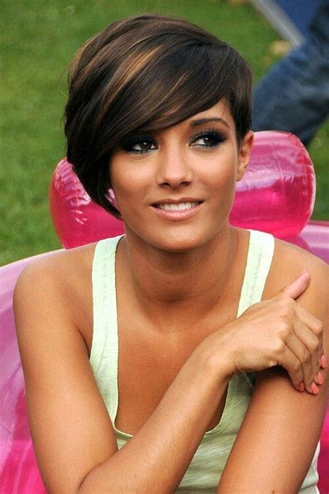 medium haircuts one side longer than the other 50 best pixie haircut herinterest com