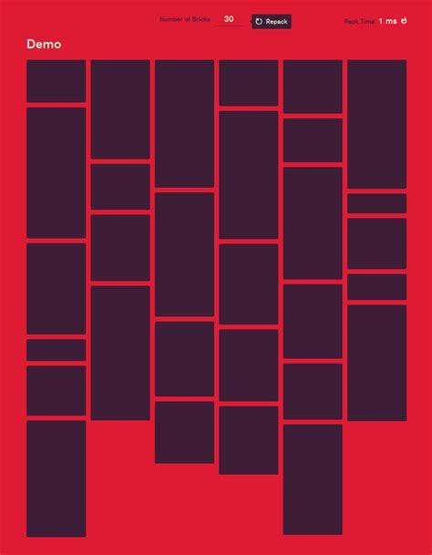 layout web generator blazing fast masonry layout generator