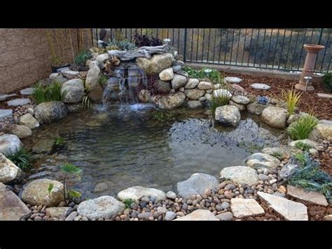 Backyard Wrong by How To Install A Koi Fish Tunnel Set Rock As Walls In