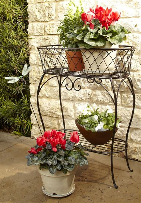 Patio Plant Stand by Metal Outdoor Plant Stand Woodworking Projects Plans