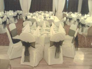 white cotton wedding chair covers wedding decor wedding favours chair covers and wedding