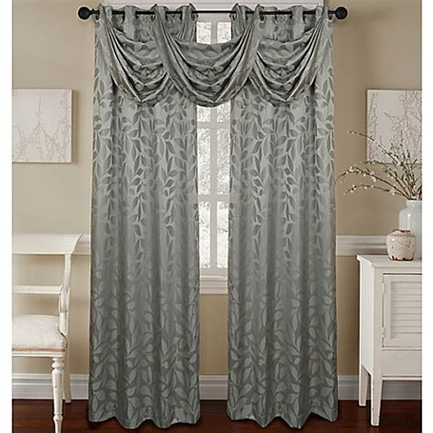 waterfall valance pattern constance textured jacquard waterfall valance www
