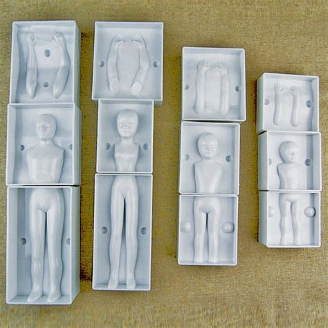 figure molds fondant 3d cake figure mold family set human