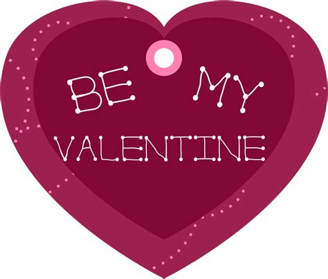 a valentines gift for my clipart be my shaped gift tag