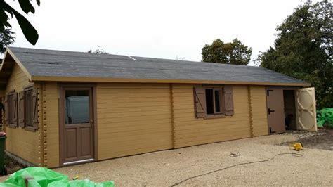 garage construction bois garage en bois