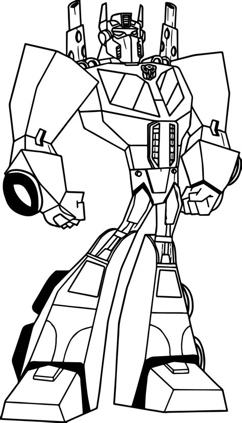 transformers animated coloring page ironhide transformers pages coloring pages