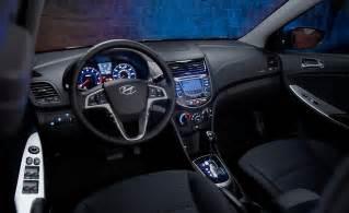 2014 Hyundai Accent Interior Car And Driver