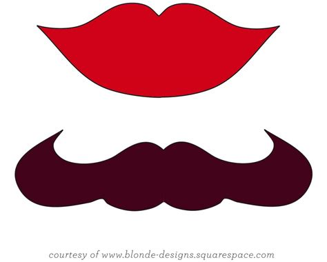 printable mouth templates best photos of lip applique template printable mustache