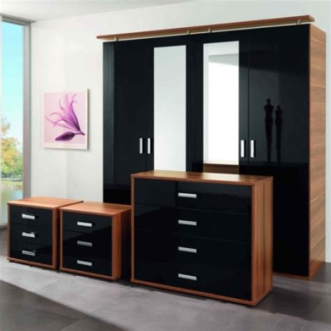 high gloss black bedroom furniture black gloss bedroom furniture