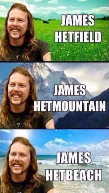 James Hetfield Meme - thrash metal meme tumblr