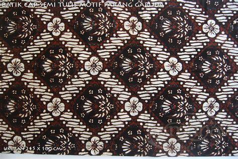 Kain Batik Cap Indigo Not Balok grosir kain batik cap semi tulis dari samunav di pakaian