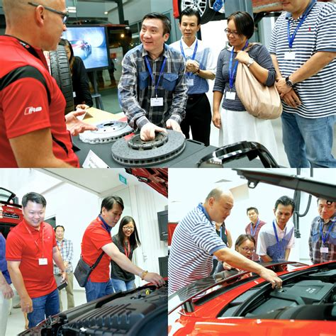 Audi Sport Talk by Audi Sport Holds First Quot Tech Talk Quot In Singapore Torque