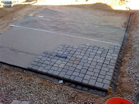 Budget Diy Small Patio My Diy Paver Patio On The Cheap Cheap Patio Pavers