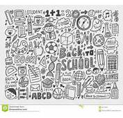 Hand Draw Doodle School Element Royalty Free Stock Photography  Image