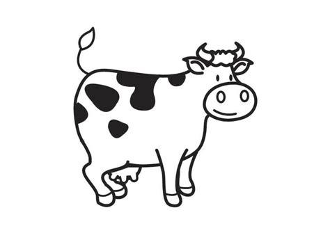 cow ears coloring page dibujo para colorear vaca img 17541