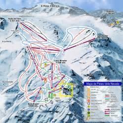 valle nevado ski resort trail map valle nevado chile