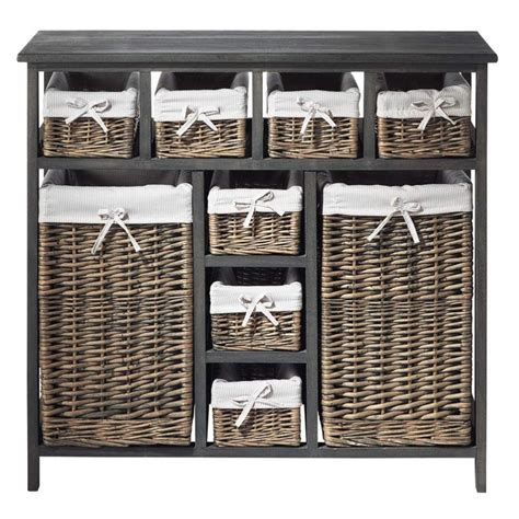 Commode Panier by Commode 224 Paniers Maisons Du Monde