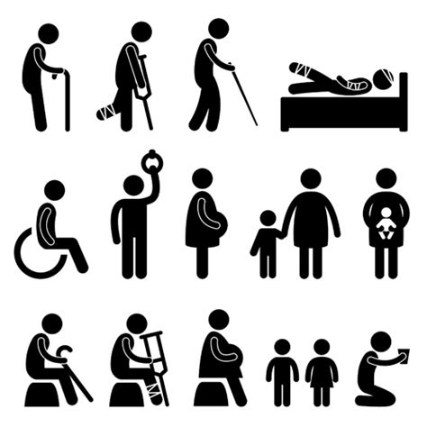 Armchair Sailor People Icon Symbol Vector Set 02 People Icons Free Download