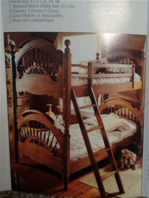 Victorian Sler Twin Spindle Bunk Beds Furniture I Who Sells Bunk Beds