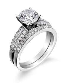 wedding band costs wedding favors overstock helzberg wedding ring with band engagement small prices