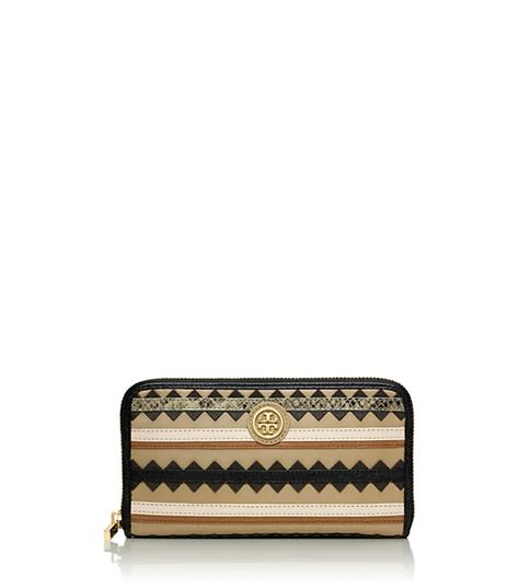Tb Robinson Patent Leather robinson zig zag zip continental wallet toryburch co uk