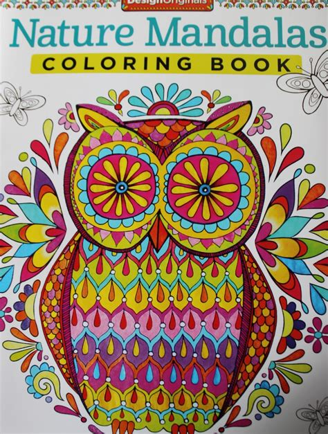 nature mandalas coloring book vinttikissa aikuisten v 228 rityskirjat nature mandalas