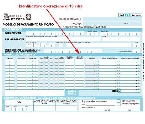 codice identificativo f24 accogliente casa di cagna