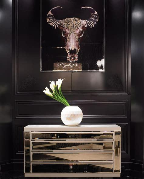 instyle home decor luxe italian designer swarovski crystal wall art buffalo