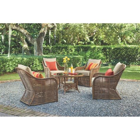 home decorators outdoor furniture home decorators collection port elizabeth 5 piece all