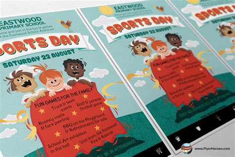 sports day fun run poster free early years primary