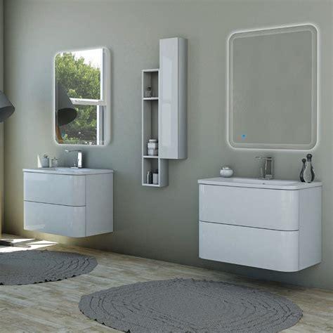 lavandino bagno prezzo arredo bagno angoli stondati da 80 o 100 cm