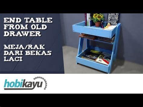 Nakas Side Table Lemari Laci membuat rak meja dari bekas laci